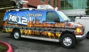 Fox News Van