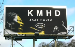 KMHD Radio Billboard Poster
