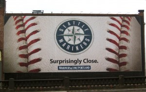 Mariners Burnside Wall Poster